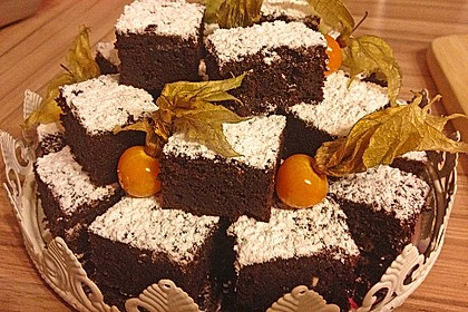 Triple Chocolate Brownies 14
