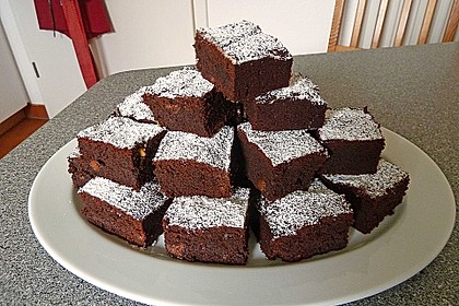 Triple Chocolate Brownies 12