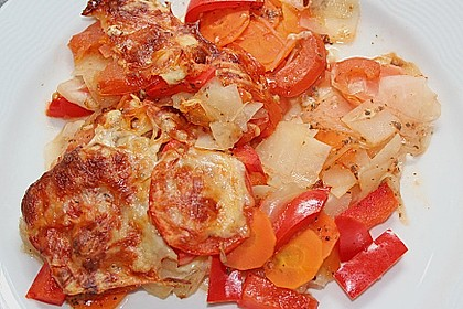 Gemüseauflauf ohne Kartoffeln 1