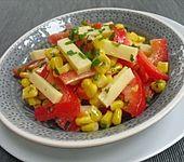 Paprika - Käse - Mais - Salat