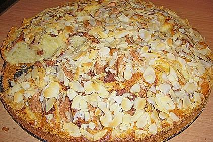 Apfelkuchen mit Mandeln 1