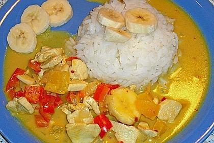 Bananen - Hühner - Curry 13