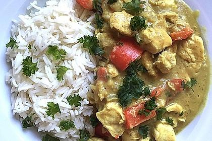 Bananen - Hühner - Curry 6
