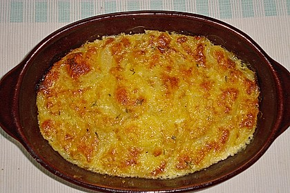 Zucchini - Kartoffel - Auflauf 2