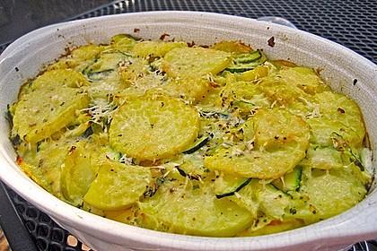 Zucchini - Kartoffel - Auflauf