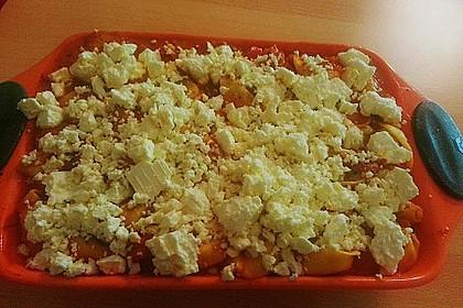 Tortellini - Auflauf mit Schafskäse 5