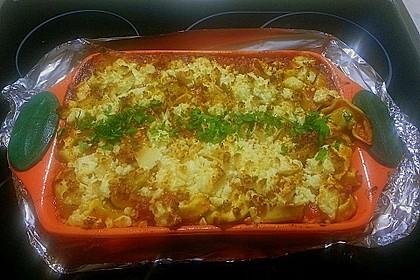 Tortellini - Auflauf mit Schafskäse 2