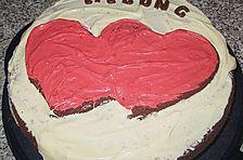 American Brownie Cake