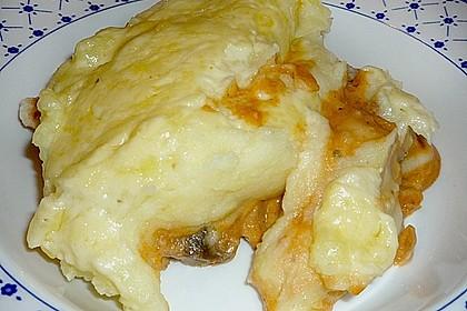 Geschnetzeltes mit Kartoffelbrei überbacken 4