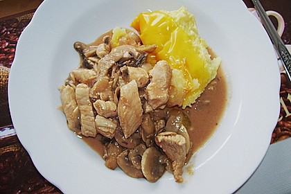 Geschnetzeltes mit Kartoffelbrei überbacken 6