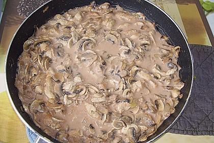 Geschnetzeltes mit Kartoffelbrei überbacken 10