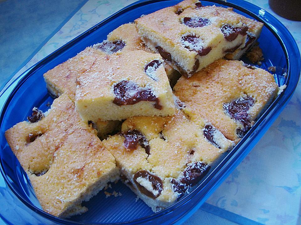 Blechkuchen - mal ganz schnell von rolisenate | Chefkoch.de