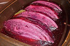 Schnelle eingelegte Rotkohl (Rotkraut) nach russischer Art