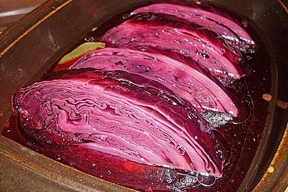 Schnelle eingelegte Rotkohl (Rotkraut) nach russischer Art 1