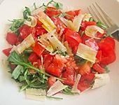 Rucola - Salat mit Balsamessig