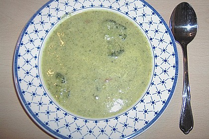 Brokkoli - Creme - Suppe 1