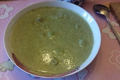 Brokkoli - Creme - Suppe 2
