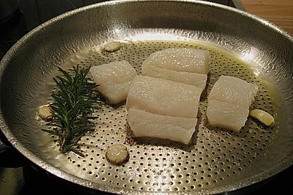 Skrei - Loin natur mit Fenchel und Schmortomaten 4
