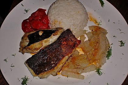 Skrei - Loin natur mit Fenchel und Schmortomaten 8