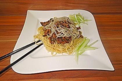 Chinesisches Nudelgericht