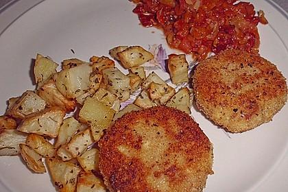 Spanische Ziegenkäse - Kroketten mit Tomatensalsa 3