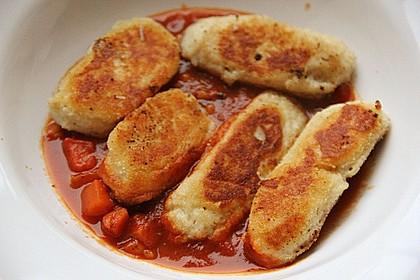 Spanische Ziegenkäse - Kroketten mit Tomatensalsa 2