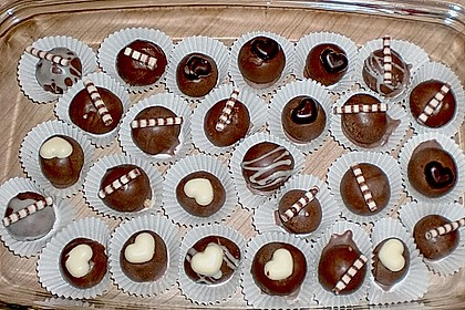 Schokoladen - Kokos - Pralinen 1