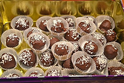 Schokoladen - Kokos - Pralinen 0