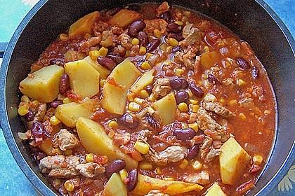 Kartoffeln auf mexikanische Art 7