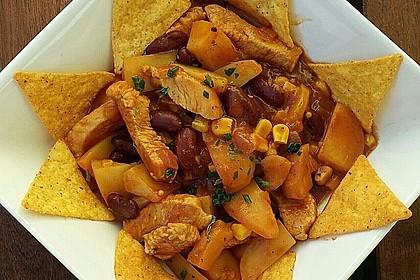 Kartoffeln auf mexikanische Art