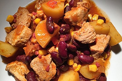 Kartoffeln auf mexikanische Art 8