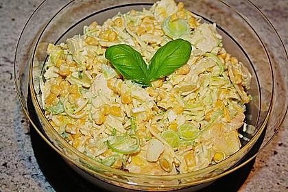 Apfel - Porree - Salat 1