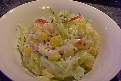 Apfel - Porree - Salat 5