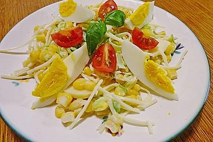 Apfel - Porree - Salat 12