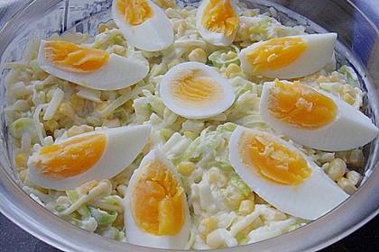 Apfel - Porree - Salat 6