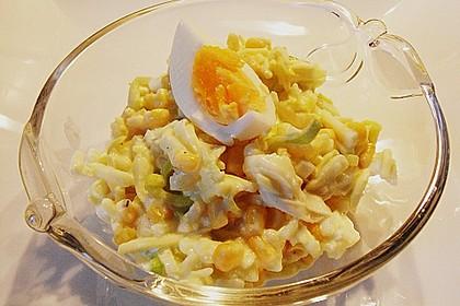 Apfel - Porree - Salat 10