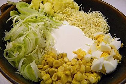 Apfel - Porree - Salat 16