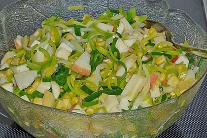 Apfel - Porree - Salat 3