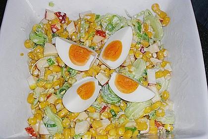 Apfel - Porree - Salat 4