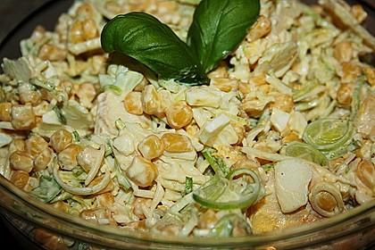Apfel - Porree - Salat 8
