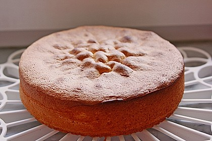 Biskuit - Grundrezept, mit Vanillepudding 14