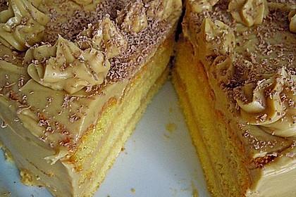 Biskuit - Grundrezept, mit Vanillepudding 33