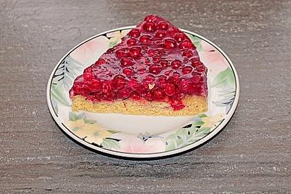 Biskuit - Grundrezept, mit Vanillepudding 27