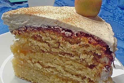 Hearts Apfel - Marzipan - Torte 1