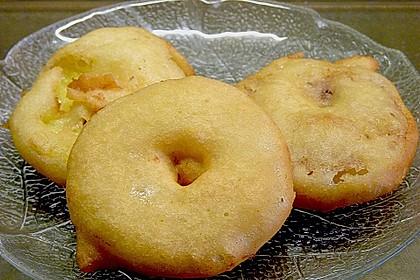Apfelküchle in Bierteig 2