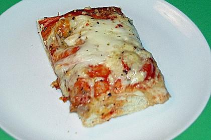 Superknuspriger Pizzateig 20