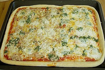 Superknuspriger Pizzateig 2