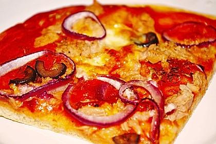 Superknuspriger Pizzateig 4