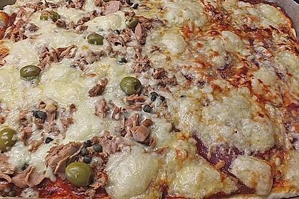 Superknuspriger Pizzateig 13
