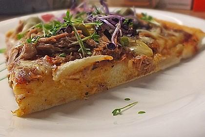 Superknuspriger Pizzateig 1